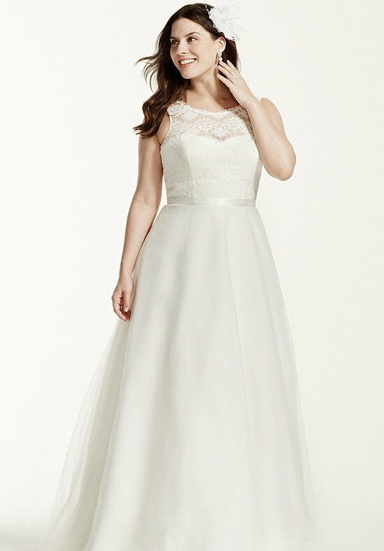 David's Bridal David's Bridal Woman Style 9WG3711 A-Line Wedding Dress