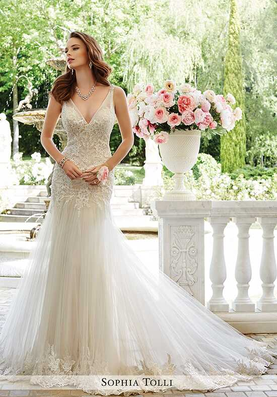 Sophia Tolli Y21665 Rome Sheath Wedding Dress