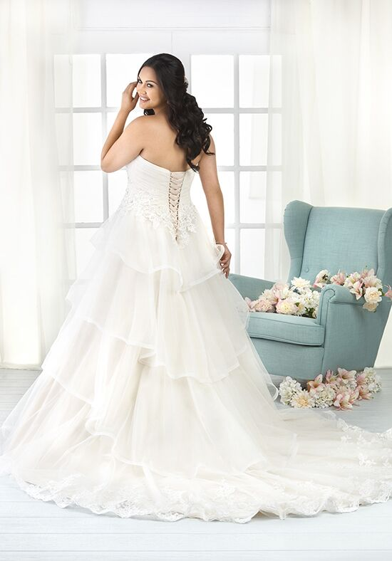 Unforgettable by Bonny Bridal 1802 Ball Gown Wedding Dress