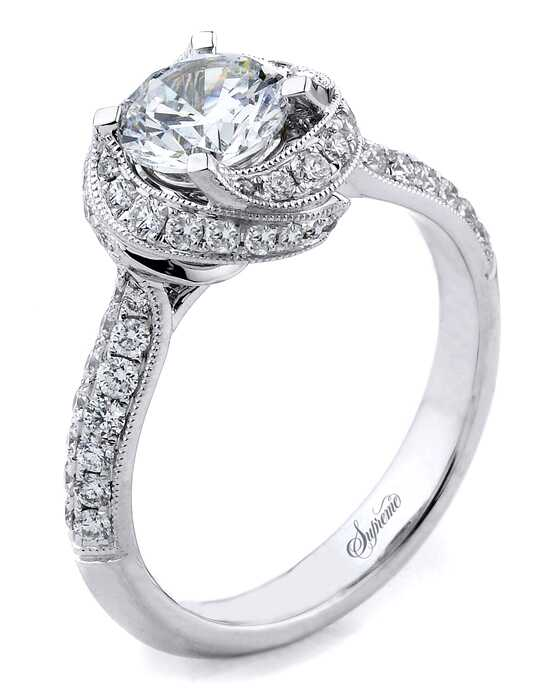 Supreme Jewelry SJ154236 Engagement Ring photo
