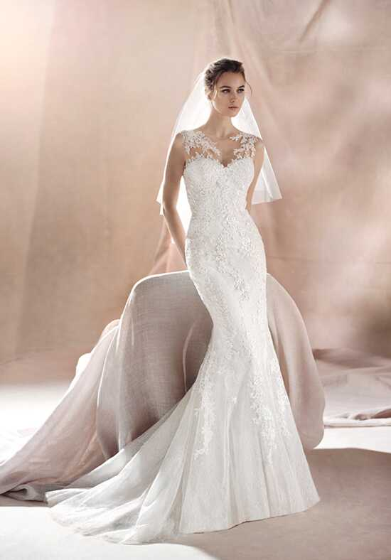 WHITE ONE SAURA Mermaid Wedding Dress