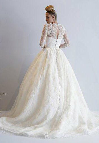 Dennis Basso for Kleinfeld Lotus Wedding Dress - The Knot