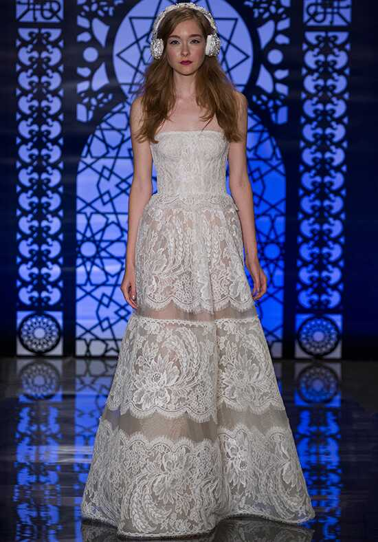 Reem Acra Coco A-Line Wedding Dress