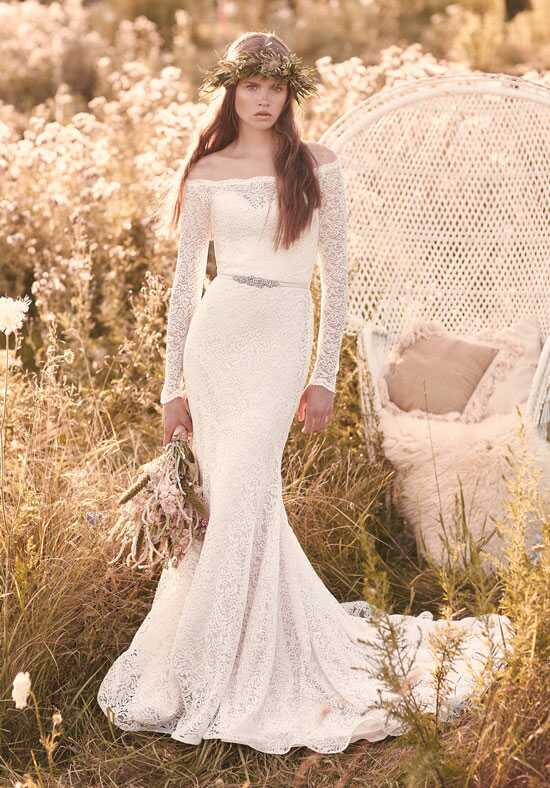 Mikaella 2055 Sheath Wedding Dress