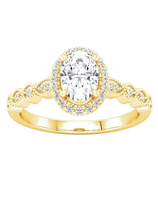 ever&ever Vintage Oval Cut Engagement Ring