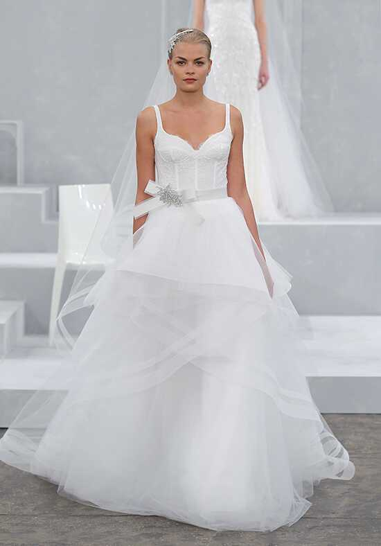 Monique Lhuillier Valletta Ball Gown Wedding Dress