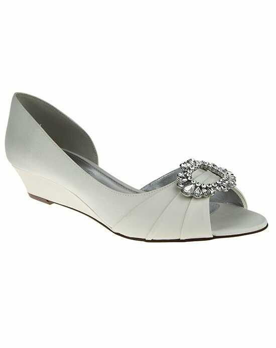 Nina Bridal Wedding Accessories RIVKA_IVORY Ivory Shoe