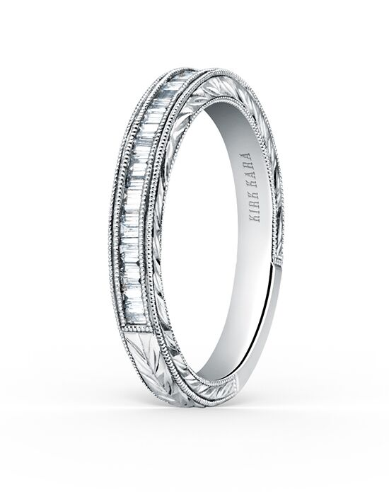 Kirk Kara Stella Collection K1151D-B White Gold Wedding Ring
