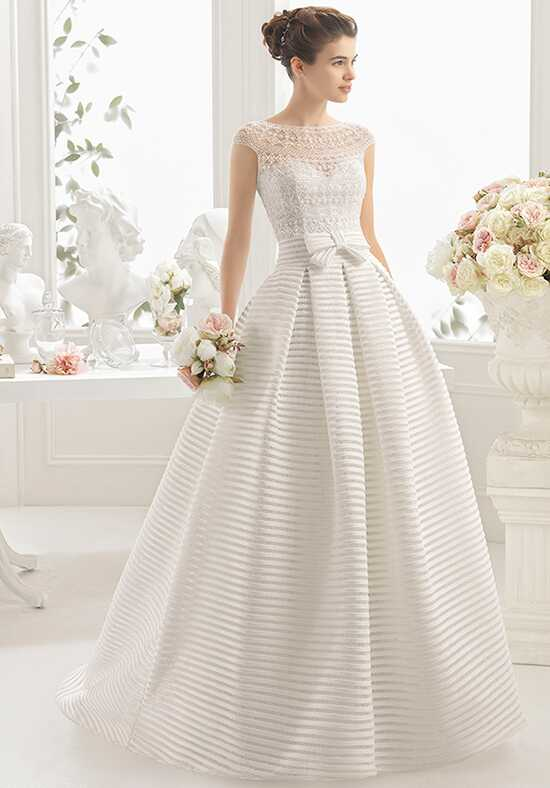 Aire Barcelona Codal Ball Gown Wedding Dress