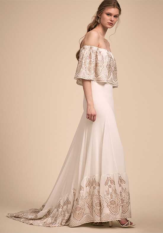 BHLDN Nomadic Gown Sheath Wedding Dress