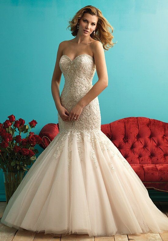 Allure Bridals 9275 Mermaid Wedding Dress