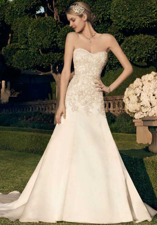 Casablanca Bridal 2166 A-Line Wedding Dress