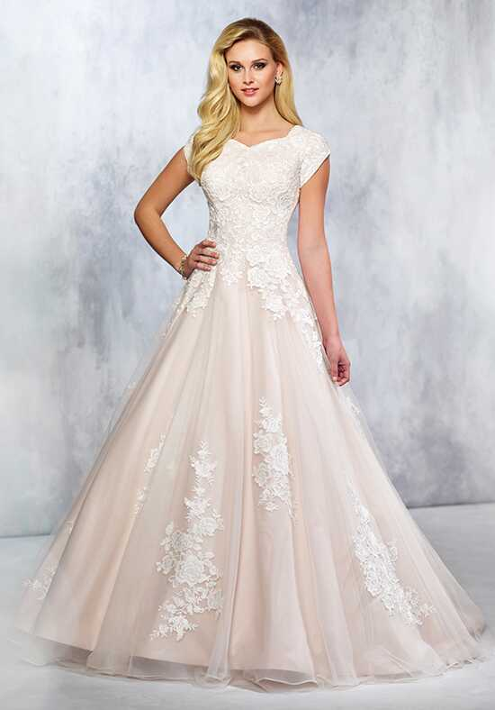 Modest by Mon Cheri TR21714 A-Line Wedding Dress