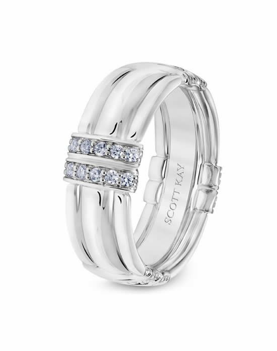 Scott Kay 22-SK5625WY8-G.00 Platinum Wedding Ring