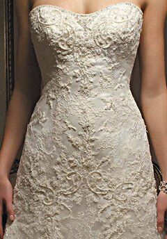 Casablanca Bridal 1827 A Line Wedding Dress