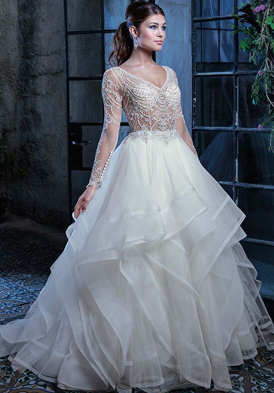 Amaré Couture C125 Jordan Ball Gown Wedding Dress