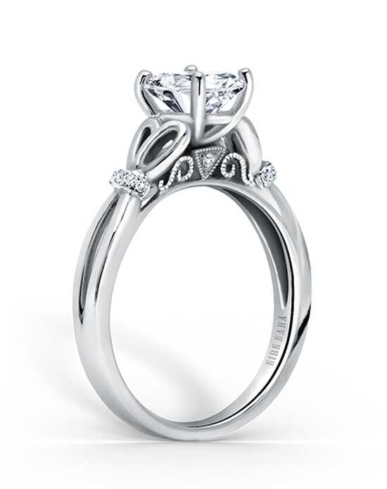 Kirk Kara Classic Oval Cut Engagement Ring