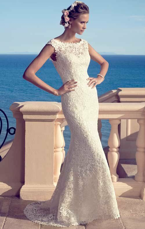 Casablanca Bridal 2183 Sheath Wedding Dress