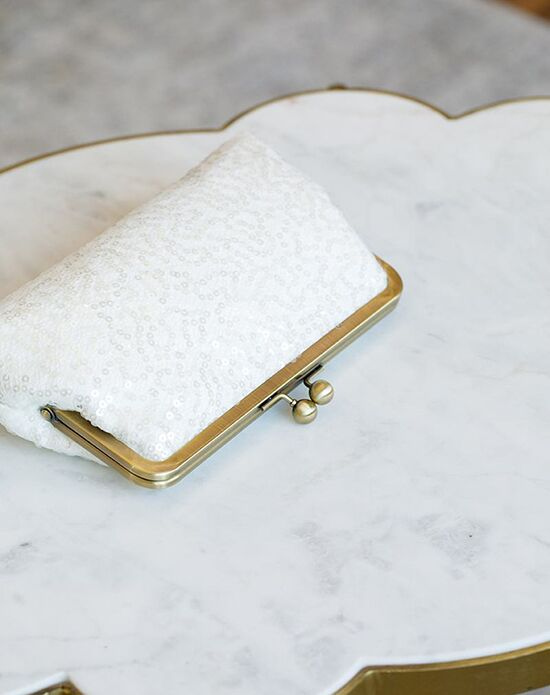 Davie & Chiyo | Clutch Collection Halle Clutch Ivory Clutches + Handbag