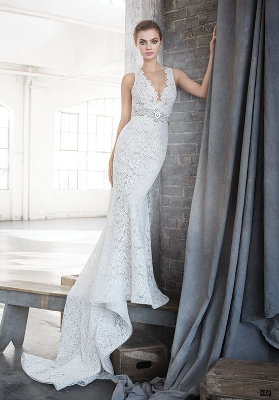 Lazaro 3611 Mermaid Wedding Dress