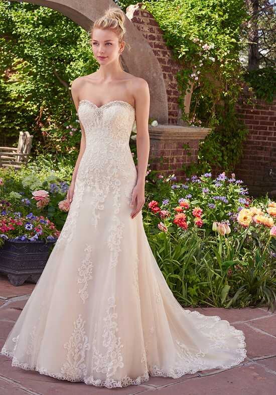 Rebecca Ingram Vernice A-Line Wedding Dress