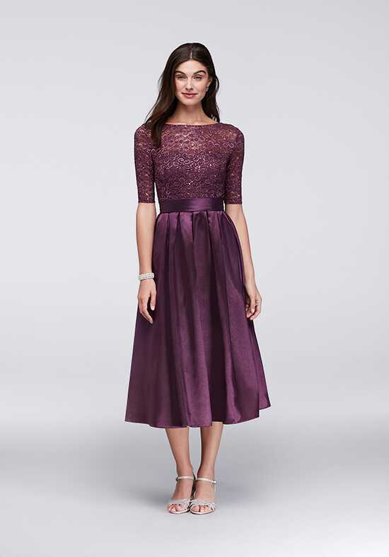 David's Bridal Mother of the Bride David's Bridal Style WBM1121 Purple Mother Of The Bride Dress