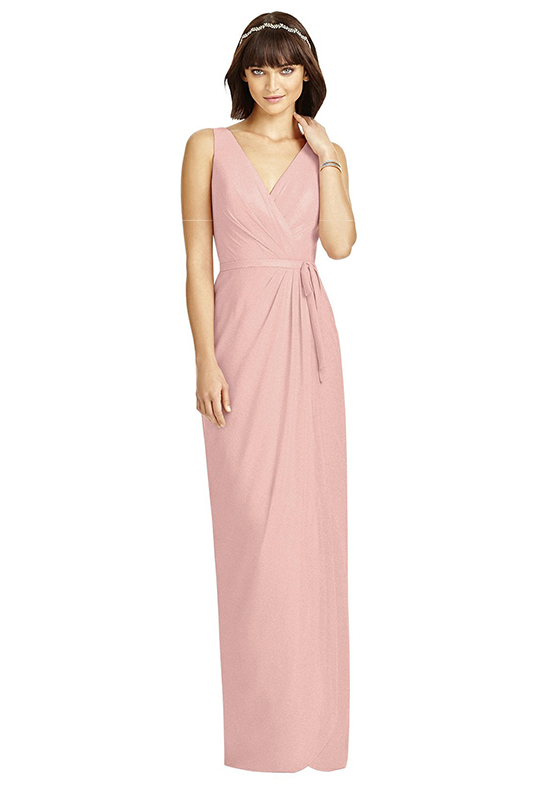 Dessy Collection 2968 V-Neck Bridesmaid Dress