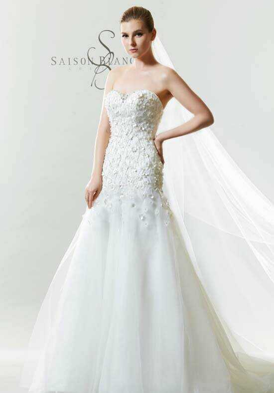 Saison Blanche Couture B3164 Mermaid Wedding Dress