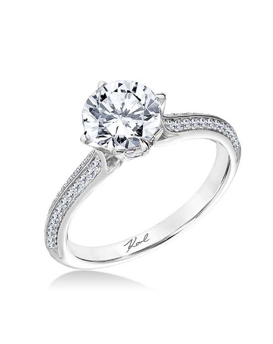 KARL LAGERFELD 31-KA105GRP Engagement Ring photo