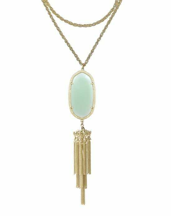 Kendra Scott Rayne Necklace in Chalcedony Wedding Necklace photo