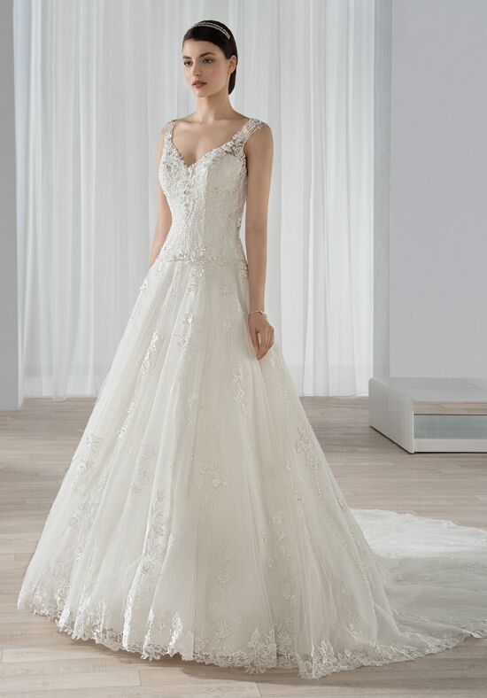 Demetrios 592 A-Line Wedding Dress
