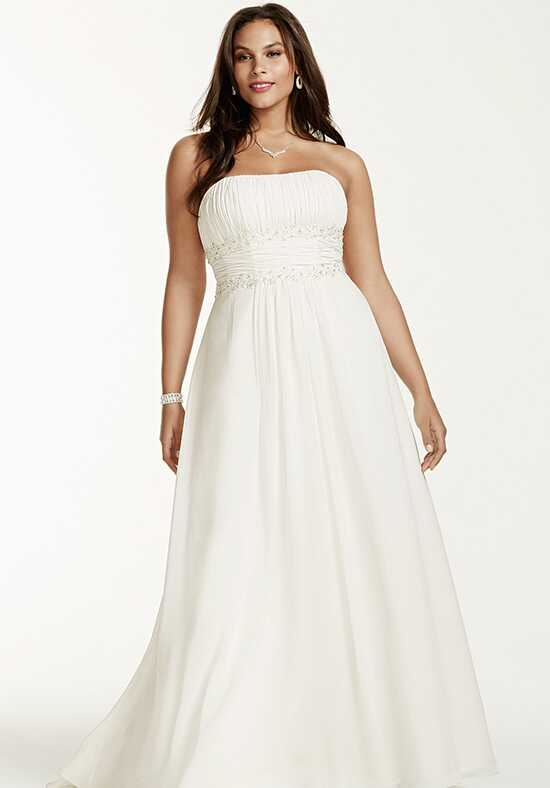David's Bridal David's Bridal Woman Style 9V9743 A-Line Wedding Dress