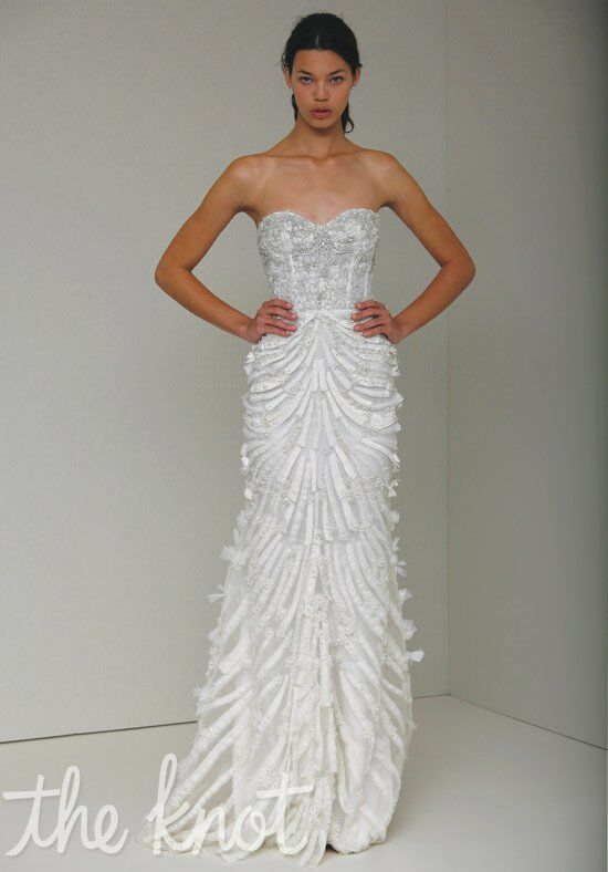 Monique Lhuillier Giada Mermaid Wedding Dress