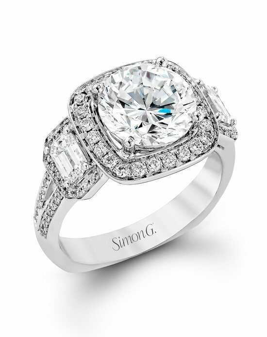 Simon G. Jewelry TR396 Engagement Ring photo