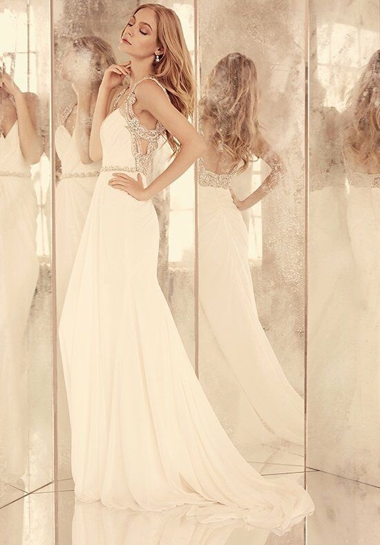 Hayley Paige Portia / Style 6557 A-Line Wedding Dress