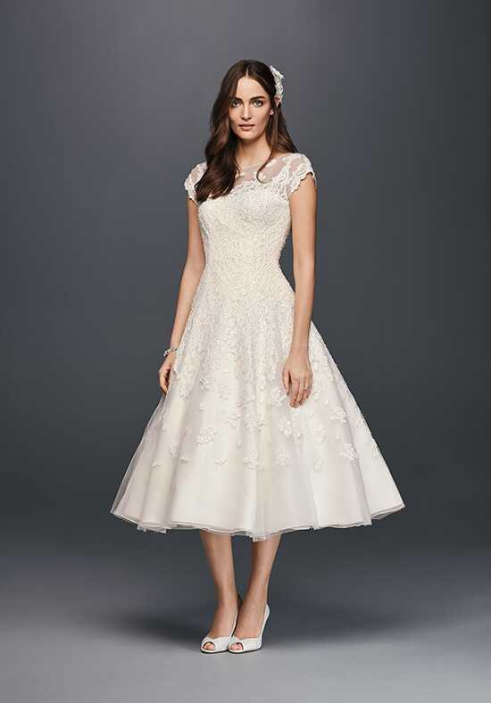 Oleg Cassini at David's Bridal Oleg Cassini Style CMK513 Wedding Dress