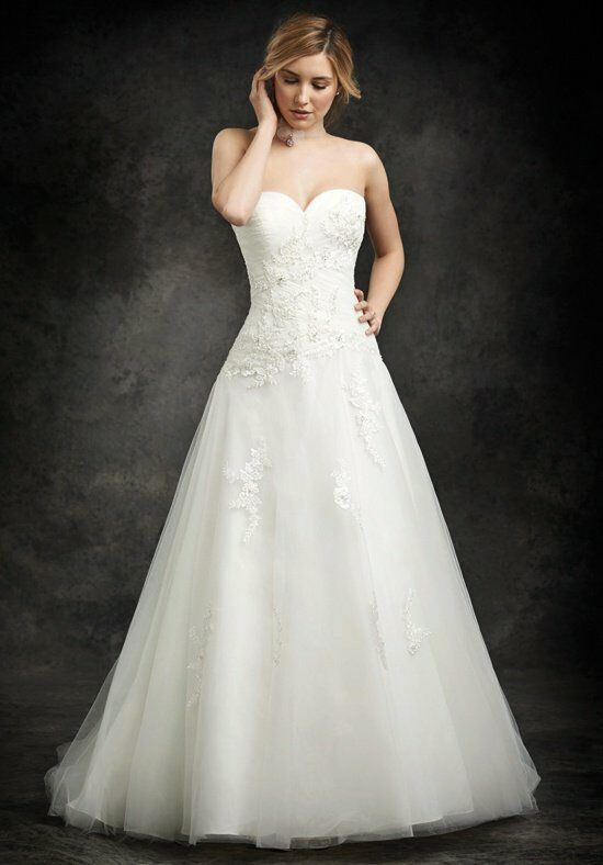 Ella rosa be245 wedding dress the knot for How do you preserve a wedding dress