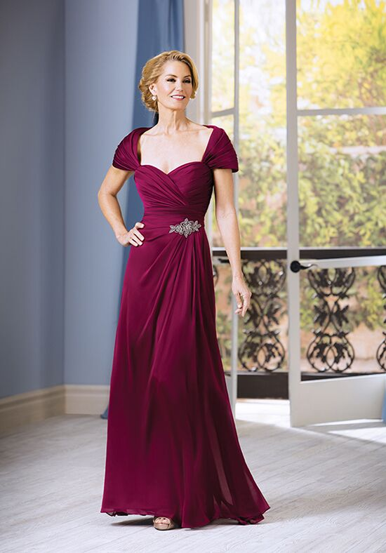Jade J185052 Red Mother Of The Bride Dress