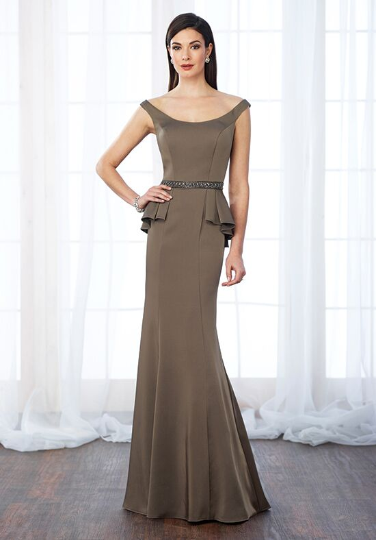 Cameron Blake 217640 Brown Mother Of The Bride Dress