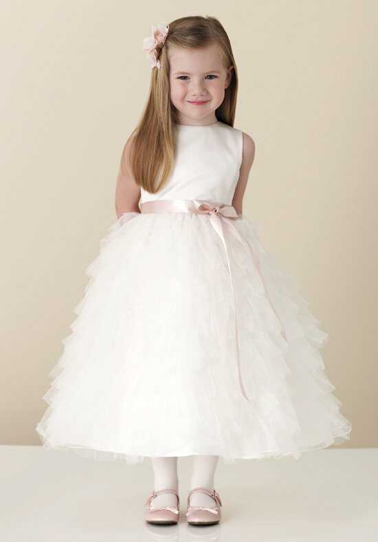 Joan Calabrese by Mon Cheri 110306 Ivory Flower Girl Dress