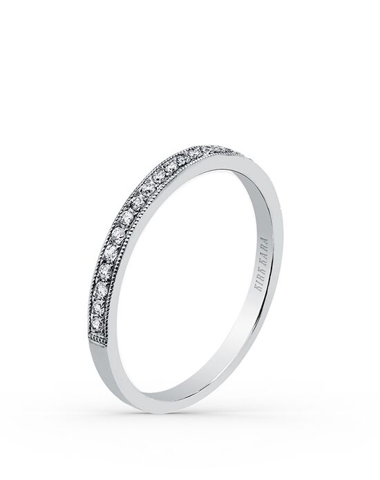 Kirk Kara Stella Collection K164-B White Gold Wedding Ring