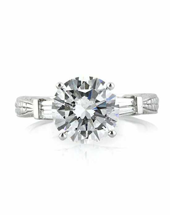 Mark Broumand 3.69ct Round Brilliant Cut Diamond Engagement Ring Engagement Ring photo