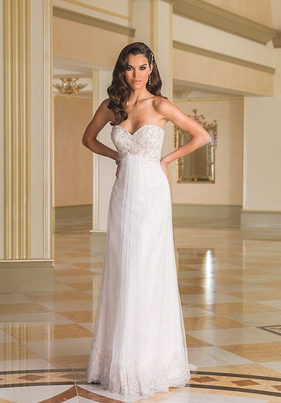 Justin Alexander 8871 Sheath Wedding Dress