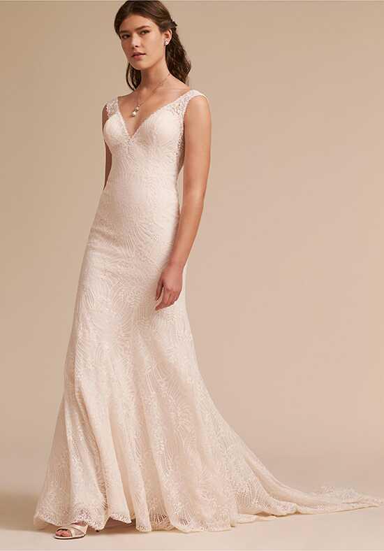 BHLDN Reinhart Gown Sheath Wedding Dress