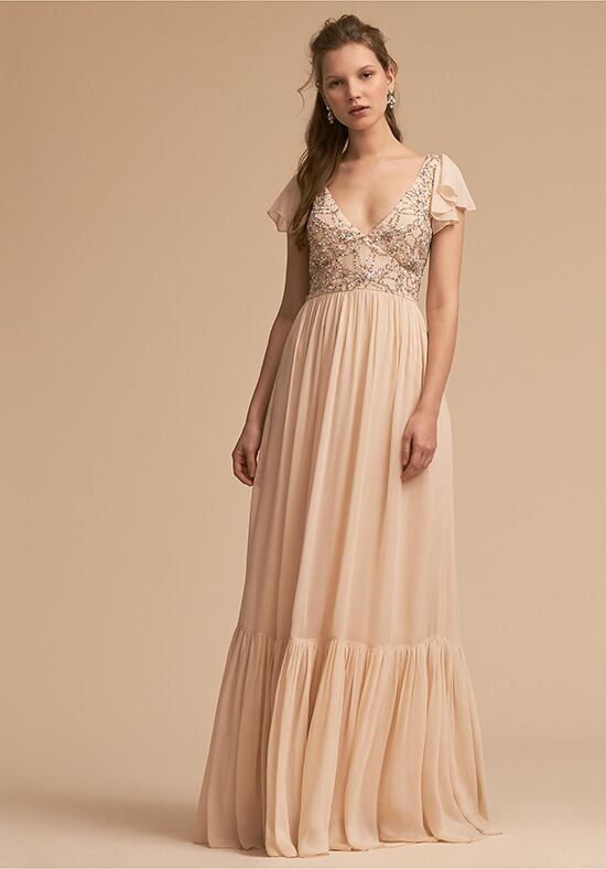 BHLDN (Bridesmaids) Daphne Dress V-Neck Bridesmaid Dress