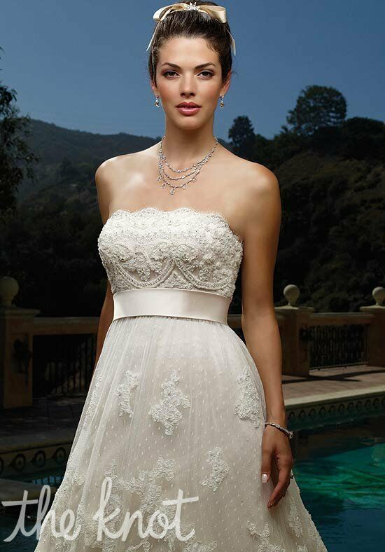 Casablanca Bridal 1900 A-Line Wedding Dress