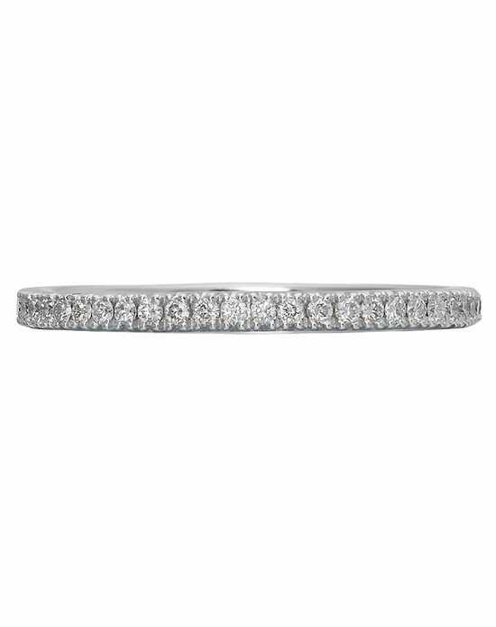 Christopher Designs G12AB-H White Gold Wedding Ring