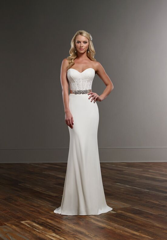 Martina Liana Cora+Sanja Sheath Wedding Dress