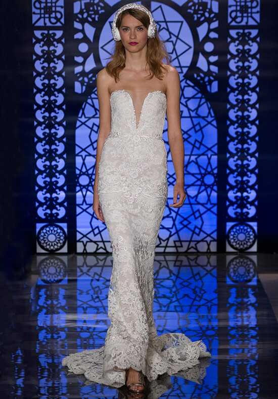 Reem Acra Nicole Sheath Wedding Dress