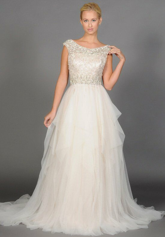 "Eugenia ""Marcella"" style 3900 A-Line Wedding Dress"